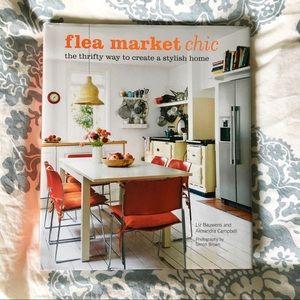 Flea Market Chic Hardcover Book | Home Decor